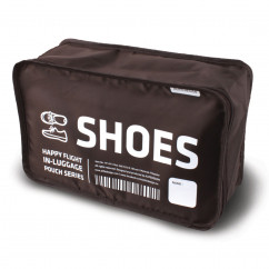 Schuhbeutel HF In-Luggage Pouch Shoes, braun