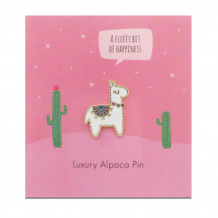 Ansteck-Pin Luxury Alpaca