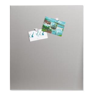Magnettafel MURO 60 x 50 cm - Edelstahl matt