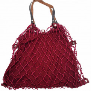 Einkaufsnetz Kulturbeutel de Luxe rot