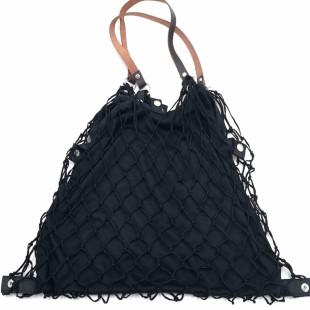 Einkaufsnetz Kulturbeutel de Luxe schwarz