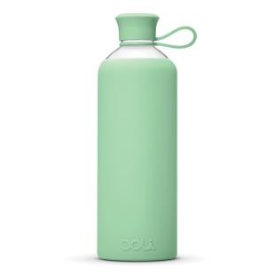 DOLI Design Trinkflasche aus Glas - Mint