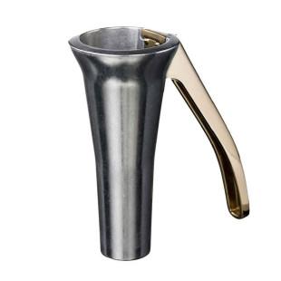 Sonderedition - Drosselmeyer Nussknacker zink (silber) und Griff in gold