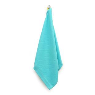 Handtuch Organic Cotton 70 x 40 cm in der Farbe lagoon blau. Das Gästehandtuch aus Bio-Baumwolle ist schnell trocknend und extram saugstark.