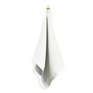 Handtuch Organic Cotton 70 x 40 cm in der Farbe weiß. Das Gästehandtuch aus Bio-Baumwolle ist schnell trocknend und extram saugstark.