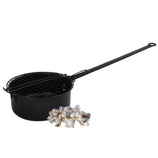 Popcorn-Pfanne mit extra langem Griff von Esschert Design.