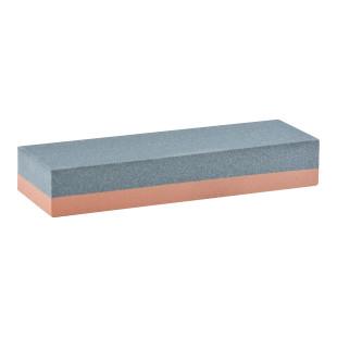 Hochwertiger Schleifstein mit 2 Schleifflächen. Schleifstein Körnung: 180 / 280. Für Werkstatt und Haushalt. Schleifstein zweiseitig.