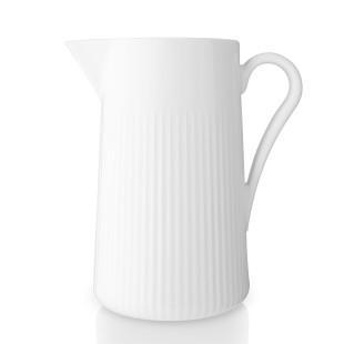 Kanne 1,6 l weiß - Eva Solo Design. Henkelkanne LEGIO NOVA. Servierkanne aus weißem Porzellan. Keramik Krug LEGIO NOVA