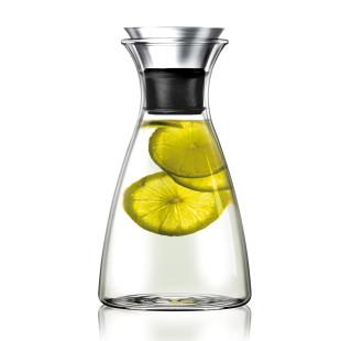 Design Karaffe aus Glas mit 1 Liter Fassungsvermögen von Eva Solo.