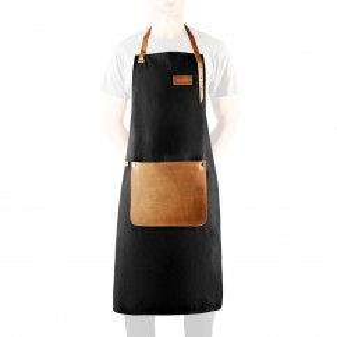 Kochschürze Canvas und Leder