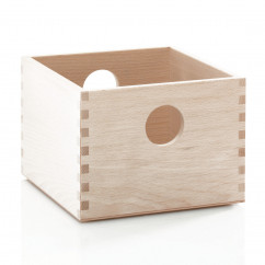 Holzbox / Stapelbox 20 x 20, natur