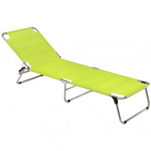 Hochwertige und komfortable Sonnenliege Amigo in pistazien grün von FIAM.