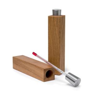 Weinthermometer mit Halterung aus Eichenholz - FAIRWERK DESIGN