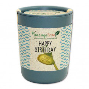 ecobean Pflanzendose - HAPPY BIRTHDAY - von Feel Green.