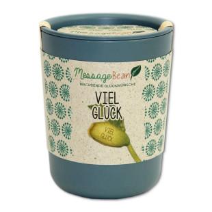 ecobean Pflanzendose - VIEL GLÜCK - von Feel Green.