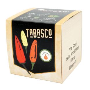 Pflanzwürfel Chili Tabasco mit persönlicher Gravur