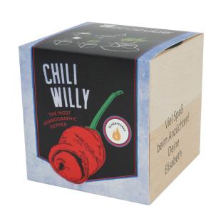 Pflanzwürfel Chili Willy mit persönlicher Gravur