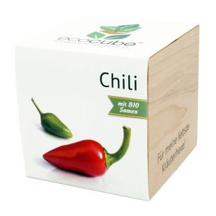 Pflanzwürfel Chili mit persönlicher Gravur