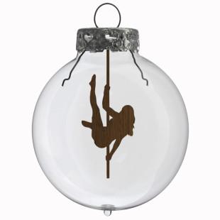 Glaskugel / Weihnachtskugel Stange #2