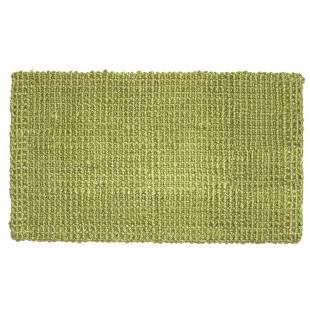 Fußmatte Hampton, Jute Matte grün 75 x 45 cm