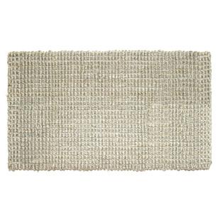 Fußmatte Hampton, Jute Matte hellgrau 90 x 60 cm