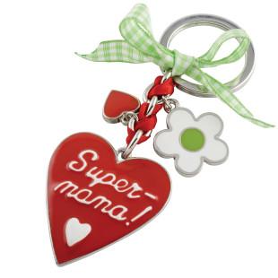 Schlüsselanhänger Super Mama