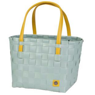 Einkaufs- oder Strandtasche Shopper COLOR BLOCK S, greyish green