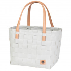 Einkaufs- oder Strandtasche Shopper COLOR BLOCK S, misty grey