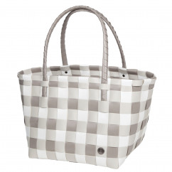 Paris Shopper Tasche beige mix von Handed By. Das Original!