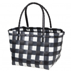Paris Shopper Tasche black mix von Handed By. Das Original!