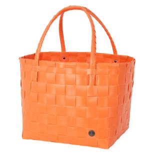 Einkaufs- oder Strandtasche Shopper Paris S, coral orange