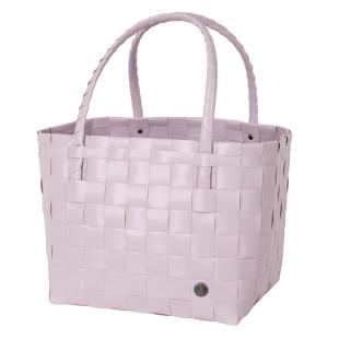 Flieder Einkaufstasche, Strandtasche, Einkaufskorb, Henkeltasche, Shopper ... Paris S soft lilac von Handed By. Fair und sozial produziert!