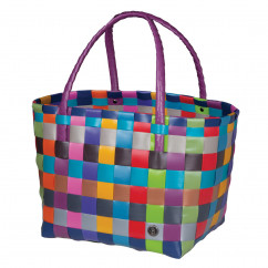 Bunte Paris Shopper Tasche multi mix von Handed By. Das Original!