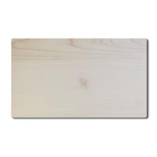 Massives Holzbrett aus Ahornholz. Kleines Schneidebrett für die Küche oder praktisches Brettchen fürs tägliche Frühstück und/oder die Brotzeit.