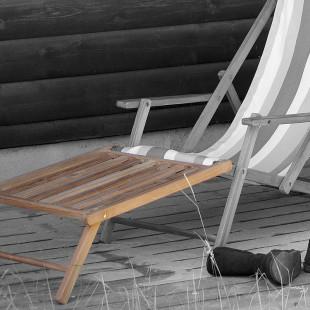 Fußteil für Liegestuhl Deckchair von Jan Kurtz
