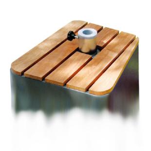 Holz Abdeckung für Schirmständer Fill Up