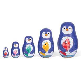Zigolos Matroschka Pinguin Puppen