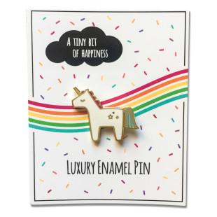 Anstecker Pin Einhorn von Jungle Empire - Fashion-Pin Unicorn
