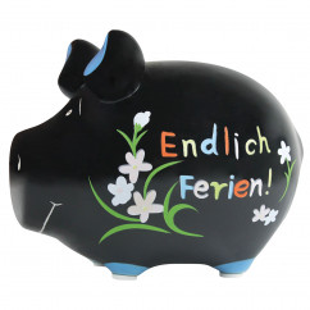 Sparschwein Endlich Ferien