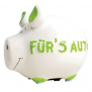 Sparschwein Fürs Auto