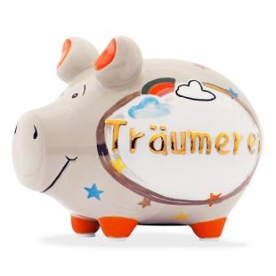 Sparschwein - Modell Träumerei - Spardose aus Keramik