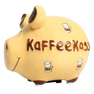 Sparschwein Kaffeekasse
