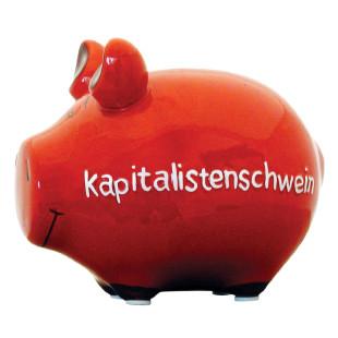 Sparschwein Kapitalistenschwein