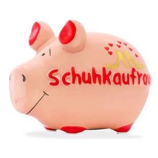 Sparschwein Schuhkaufrausch