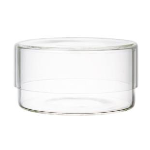 Aufbewahrungsglas Schale glass CASE 300 ml von KINTO Design - Glasbehälter mit Glasdeckel 300 ml