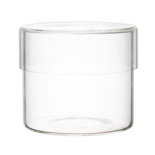 Aufbewahrungsglas Schale glass CASE 500 ml von KINTO Design - Glasbehälter mit Glasdeckel 500 ml