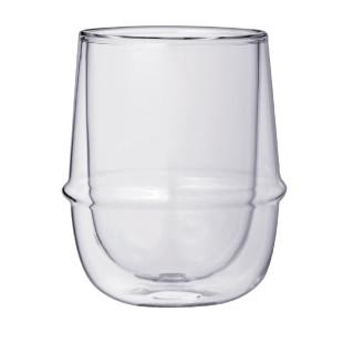 Glas doppelwandig KRONOS - Kaffeeglas 250ml