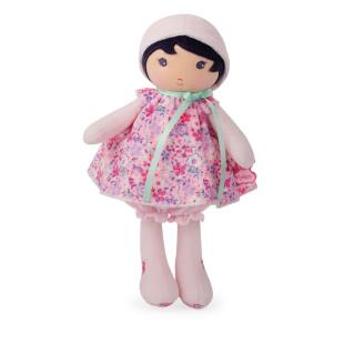 Schmusepuppe Mädchen Tendresse FLEUR K - 25 cm. Supersofte Puppe mit geblümten Kleidchen vom französischen Hersteller Kaloo.