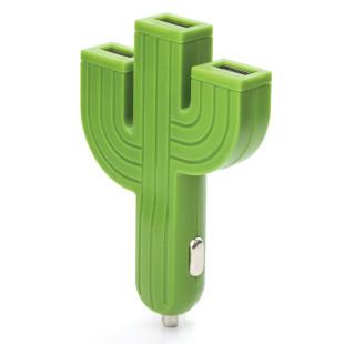 Kaktus Auto-Ladestecker von Kikkerland USB Adapter