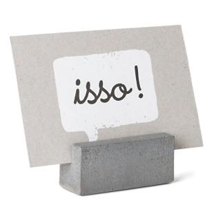 Kartenhalter PR aus Beton